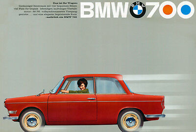 1962 BMW LS Luxus - Promotional Advertising Poster