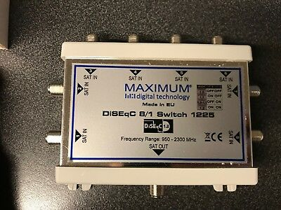 Maximum 8/1 DiseqC Switch 1.0, 1.1 et 1.2