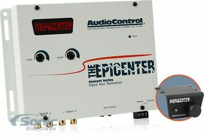 AudioControl The Epicenter Sierra White Bass Booster Expander