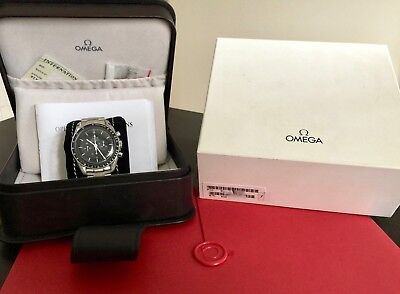 OMEGA Speedmaster 3570.50 Moonwatch w/ box and Extract of the Archives.