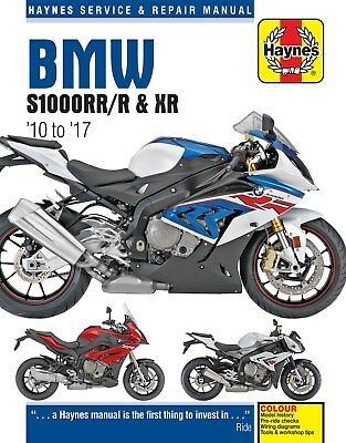 6400 Haynes BMW S1000RR/R & XR (2010 to 2017) Workshop Manual