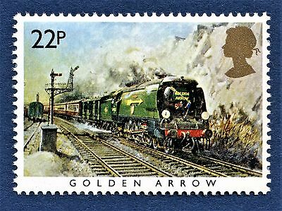 GB Golden Arrow / la Fleche D'or  /  on a Stamp - U/M 13