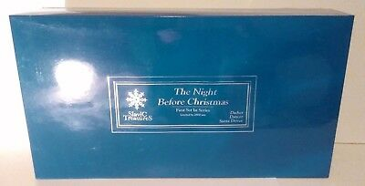 Slavic Treasures The Night Before Christmas Ornament Set with Prancer