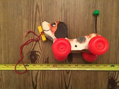 L645 Vintage Fisher Price Toy Little Snoopy # 693 Complete w/ Shoe