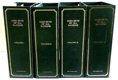 92 Coins Of All Nations Sealed Mint Sets 4 Volumes