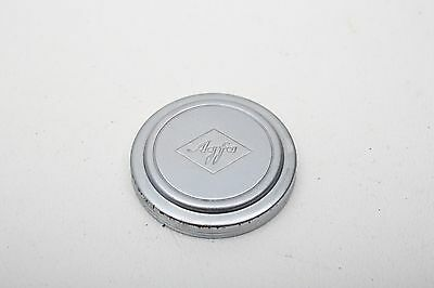 Agfa 32mm Metal Front Lens slip-on Silver Cap++EARLY+Vintage++Beautiful
