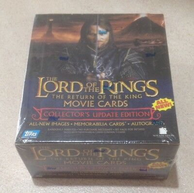 """2004 Topps """"Lord of the Rings - The Return of the King (Update Box)"""" - 36 Packs"""