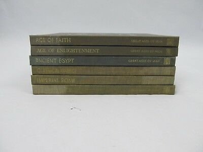 TIME LIFE Great Ages of Man Lot of 6 VOLUMES
