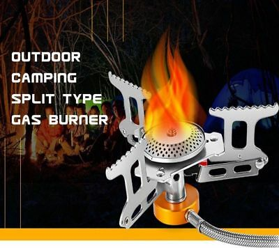 Outlife Camping Gas Burner Stove Head Butane Gas Outdoor Hiking Stove Split Type