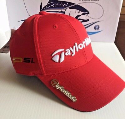Taylormade Golf Cap Red M2