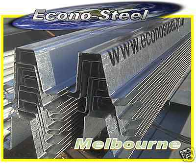 STEEL TOP HAT 65mm high, 0.9mm thick, 6mt long. Lots more. Econosteel