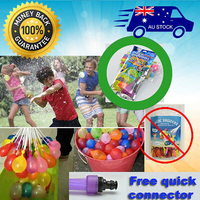 up to 1110X ALREADY TIED MAGIC WATER BALLOONS BOMBS BUNCH KIDS