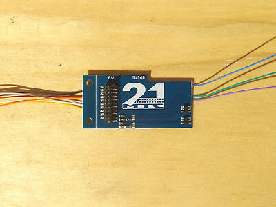 ESU 51968 21MTC Adapter Board with Amplified Outputs and Wiring.
