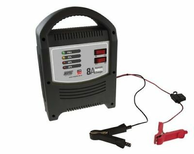 New 1 X Maypole Mp7108 Battery Charger Fully Automatic  6 & 12 Volt 8 Amp Car
