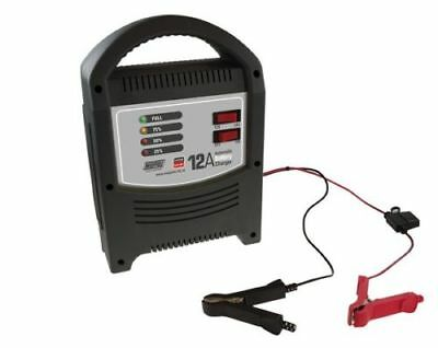 New 1 X Maypole Mp7112 Battery Charger Fully Automatic 12 & 24 Volt 12 Amp