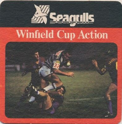 Coaster: Seagulls, Winfield Cup Action.
