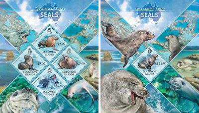 Topical Stamps Marine Animals Seals Dichtungen Sharks Fishes Fauna Mozambique Mnh Stamp Set Stamps