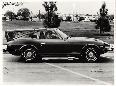 Datsun 260Z Car With Rear Roof Cover U.s.a. Market Car, Photograph.