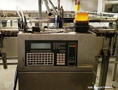 Used- Videojet Excel 170I Small Character Ink Jet Coder. 10 characters per inch