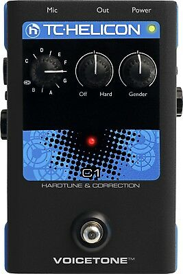 TC Helicon VoiceTone C1 Hard-Tune & Correction Pedal