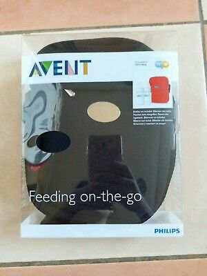 Philips AVENT Thermabag Bottle Carrier Lightweight Compact Holds 2 AVENT Bottles