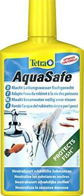 Water Conditioner Treatment Aquarium 500Ml Tetra Aquasafe Tap Safe Fish Tank