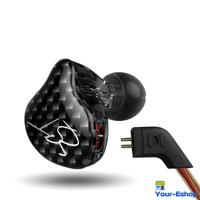 KZ ZST In Ear Headphones Earbuds Noise Cancelling In-ear Only Earphones Headset