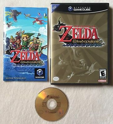 Legend of Zelda: The Wind Waker (Nintendo GameCube, 2003) GC Complete CIB