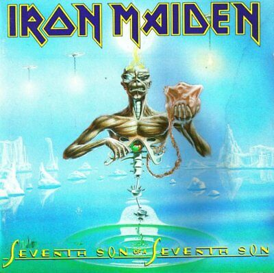 Iron Maiden - Seventh Son of a Seventh Son - Iron Maiden CD HRVG The Fast Free