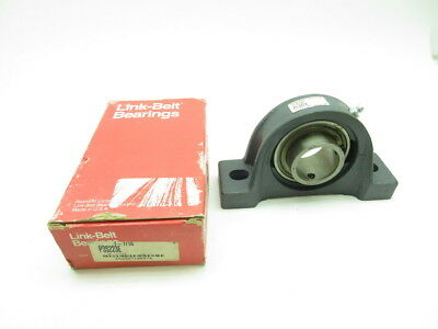 New Link-belt P3S223E Pillow Block Bearing 1-7/16in