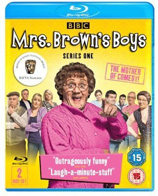 Mrs Brown's Boys - Series 1 (Blu-ray + DVD Bonus Disc) -  CD ZAVG The Fast Free