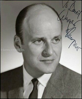 Werner Klemperer - Photograph Signed