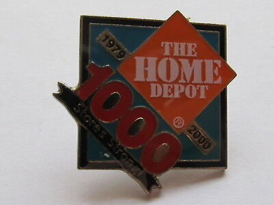 New Home Depot our 1000 stores strong Lapel Pin