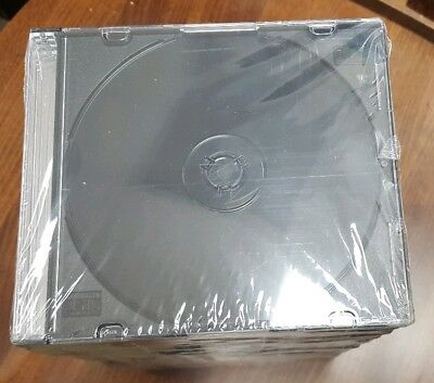 CD Cases Black Brand New (50 PC)