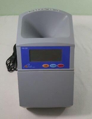 Royal Sovereign Machine Model FS-3D Digital 4-Row Fast Coin Sorter Count & Roll