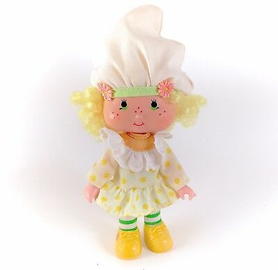 Vintage Strawberry Shortcake Lemon Meringue Doll Complete Clothes 80s Original