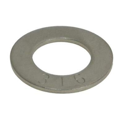 3/16 1/4 5/16 3/8 7/16 1/2 5/8 3/4 7/8 1 1.1/8 1.1/4 Flat Washer Stainless G316