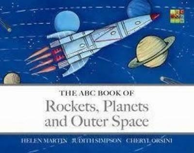 NEW The ABC Book of Rockets, Planets and Outer Space By Helen Martin Board Book
