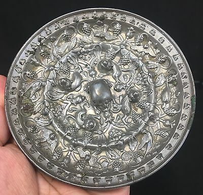 High Quality Ancient or Antique Chinese Tang Dynasty Bronze Mirror 3D Relief