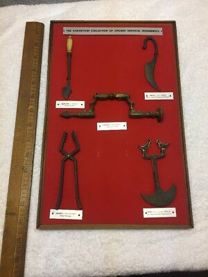 The Garamycin Collection of Ancient Surgical Instruments Medical