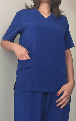 Light Navy Blue Unisex 7 Pocket Scrub Set Special 7 size Buy 2 get one free