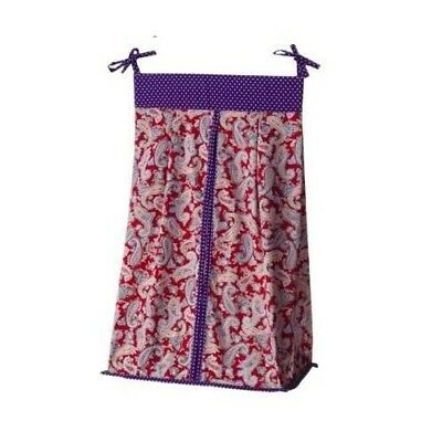 Talulu Diaper Stacker - Purple/Red by Trend Labs NEW IN PACKAGE