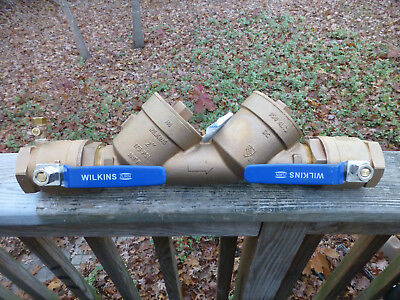 "Wilkins Zurn 950XLT 2"" Double Check Valve Lead Free"