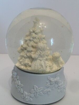 Dept 56 Musical Waterglobe Hanging The Ornament Winter Silhouette