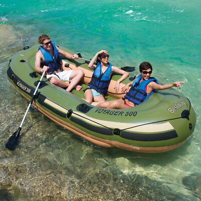 Bestway Inflatable Boat 3.48m x 1.41m Voyager 500