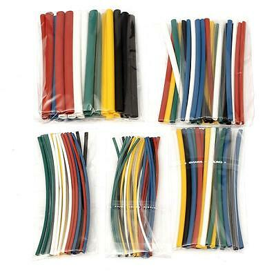 140Pcs 7 Colors Heat Shrink Tube Wire Wrap Sleeve Car Electrical Cable Tubing