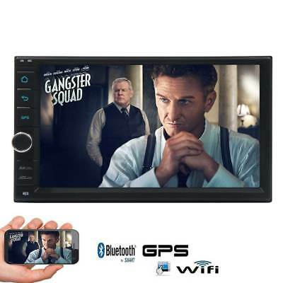 7inTouchscreen Stereo 2 Din NO-DVD GPS Car Radio Android6.0  Bluetooth SWC 4G/3G