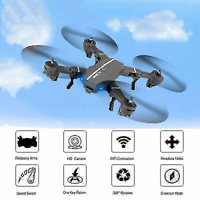 Mini 8807W Foldable With Wifi FPV HD Camera 2.4G 6-Axis RC Quadcopter Drone Toy