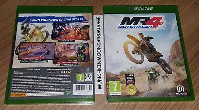 New Retail Sealed Moto Racer 4 MR4 MotoRacer for Microsoft XBox One FREE UK P&P