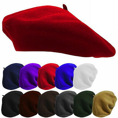 Vintage Lady Women's Warm Wool Fashion French Berets Tam Beanie Slouch Hat Cap